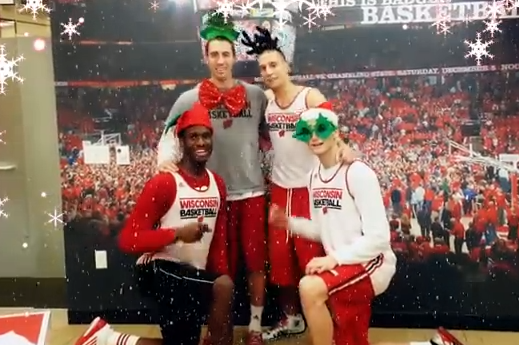 Happy Holidays from the Badgers