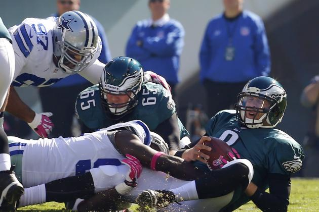 How Cowboys Can Limit Eagles Quarterback Nick Foles in Week 17