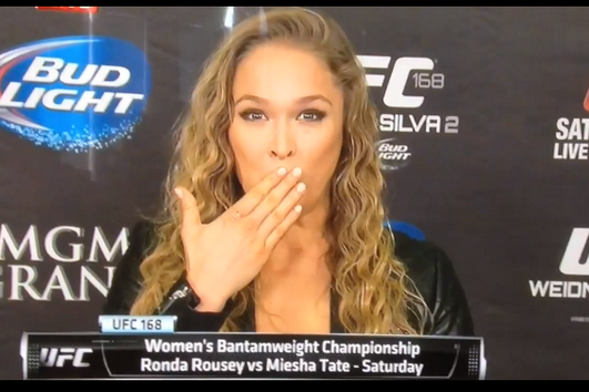 Video: Ronda Rousey Swears During SportsCenter Interview