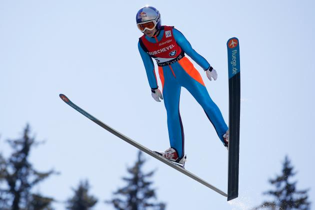 6 Weeks to Sochi & 1st Women's Ski Jumping Event