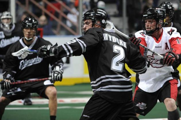 Edmonton Rush 2014 NLL Preview: Younger, Faster and Stronger