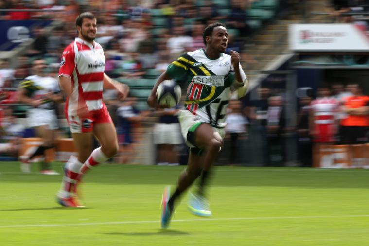 'The Fastest Man in American Rugby' Carlin Isles Signs with Detroit Lions