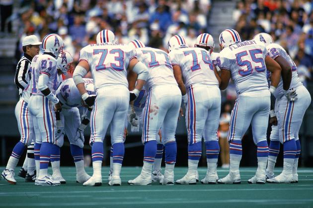 Houston Oilers Players Reportedly Knew, and Didn't Care, Two Teammates Were Gay