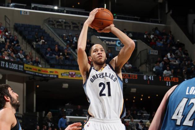 F Tayshaun Prince (Knee) Starting Tonight vs. Rockets