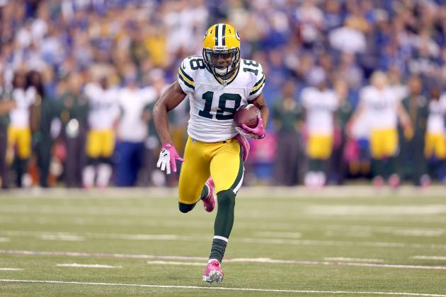 Randall Cobb's Return Would Help Ease Aaron Rodgers Back into Lineup