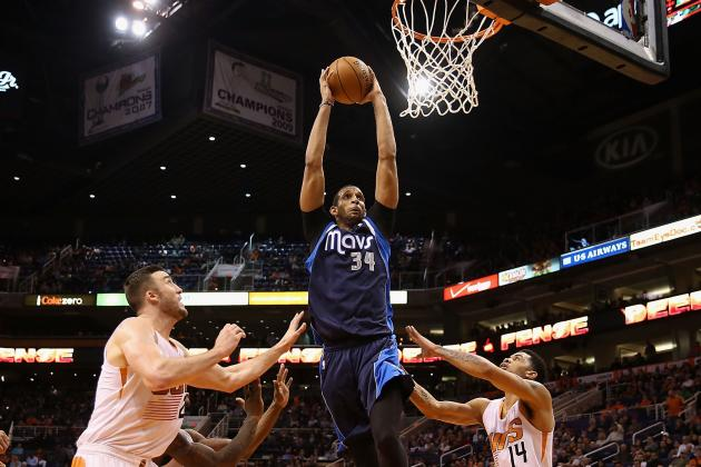 Brandan Wright out vs. Spurs; Samuel Dalembert Available