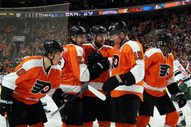 Which Flyers Forward Should Be Demoted When the Team's Healthy?