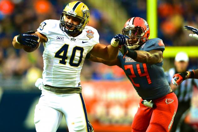 Little Caesars Bowl 2013 Pitt vs. Bowling Green: Live Score and Highlights