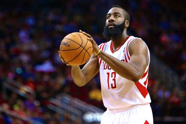 James Harden Scores 27 Points Despite Making Only 2 Shots from the Field