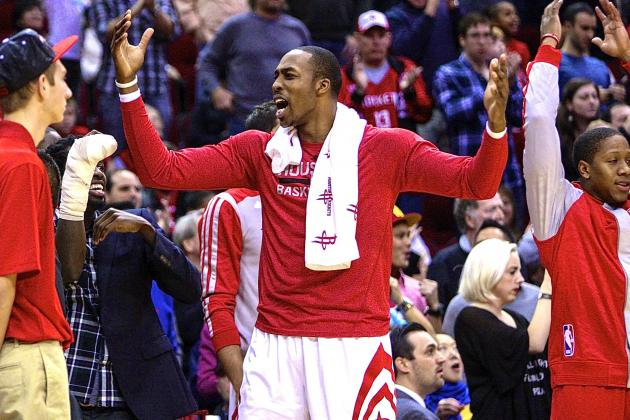 Rockets Give Dwight Howard, Benched for Final 19:52, Plenty of Reason to Cheer