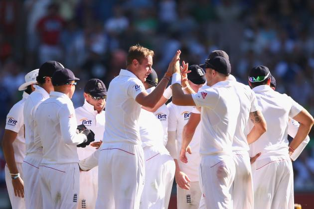 Australia vs. England Ashes 2013: Day 2 Scorecard and Report from 4th Test