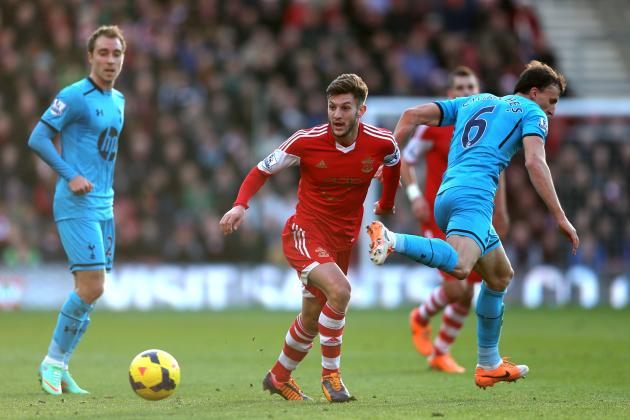 Liverpool Transfer Rumours: Adam Lallana Should Pick Reds over Manchester United
