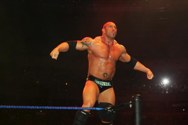 Batista Returns to WWE Programming at Raw