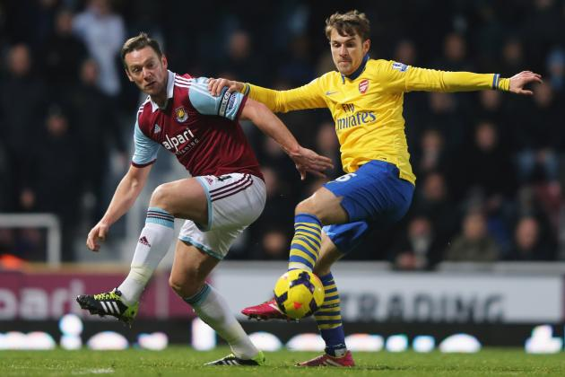 Premier League Injury News, Fantasy Impact: Ramsey Out for Arsenal