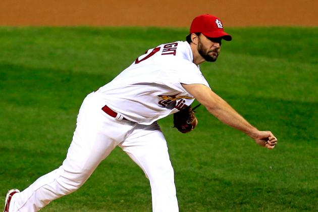 ESPN's Olney Ranks St. Louis Cardinals with 4th-Best Pitching Rotation