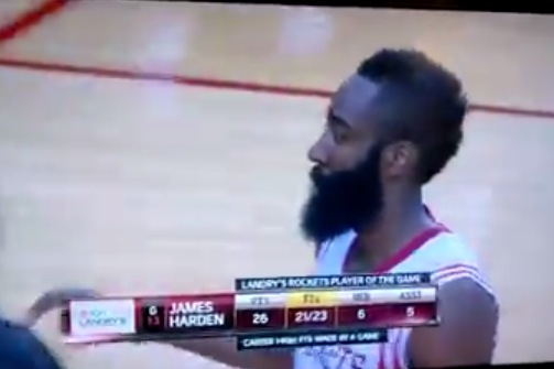 Harden Is Very, Very Sneaky
