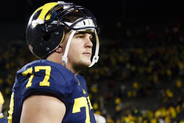 Taylor Lewan Is Michigan's Most Important Player in Buffalo Wild Wings Bowl