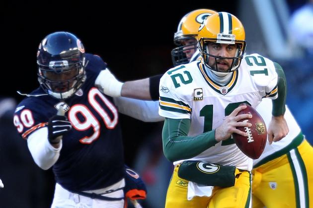 Rodgers Is Following in the Footsteps of  Starr and Favre When Playing the Bears