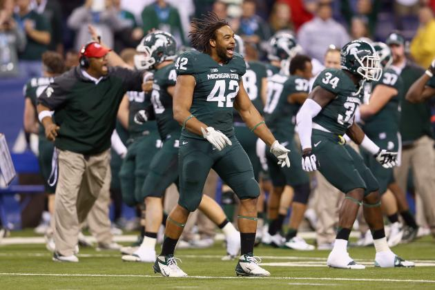 Teammates View Max Bullough Suspension as Motivator for Rose Bowl