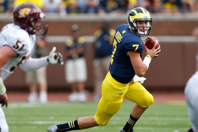 Michigan Football: What to Expect from Shane Morris in Buffalo Wild Wings Bowl