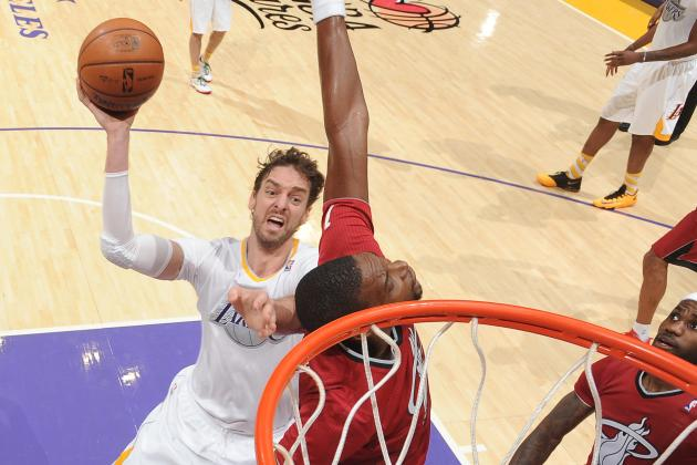 Pau Gasol out vs. Jazz
