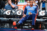 Westbrook Off Crutches After Knee Surgery