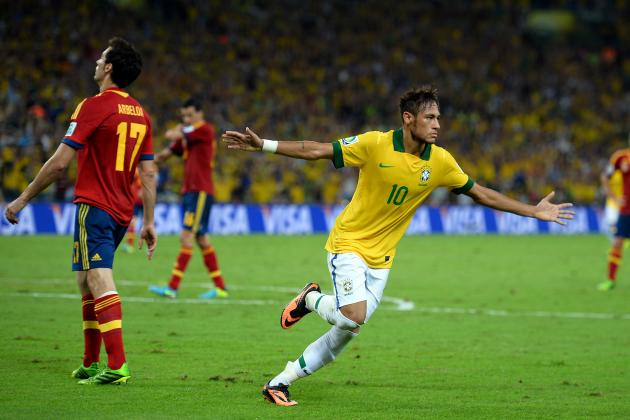 Targets Neymar Must Hit for Barcelona and Brazil to Win Ballon D'Or in 2014