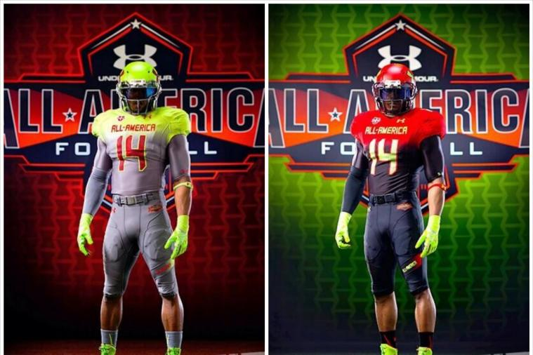 2014 Under Armour All-America Game Uniforms Revealed