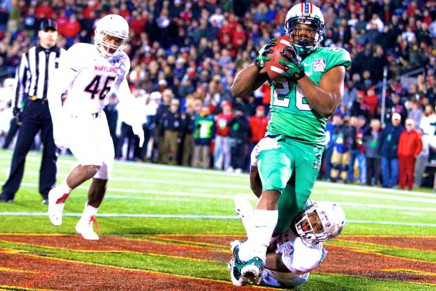 Marshall vs. Maryland: Score, Grades and Analysis from Military Bowl 2013