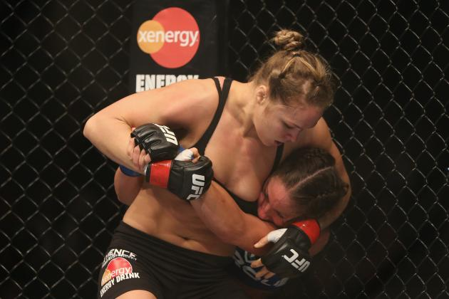 Ronda Rousey Must Emerge Victorious in UFC 168 to Be Taken Seriously