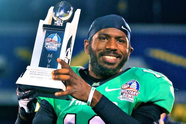 Military Bowl 2013: Rakeem Cato Shows He's a Name to Watch in 2014 Heisman Race