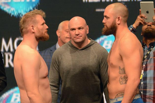 UFC 168: Josh Barnett vs. Travis Browne Might Steal the Show