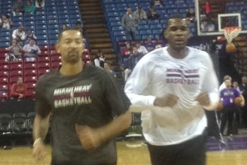 Greg Oden Works out Before Heat-Kings, Still Has Road Ahead to Recovery
