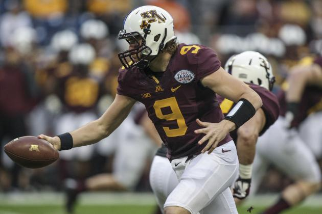 Minnesota Football: Did Texas Bowl Loss Create QB Controversy for 2014?