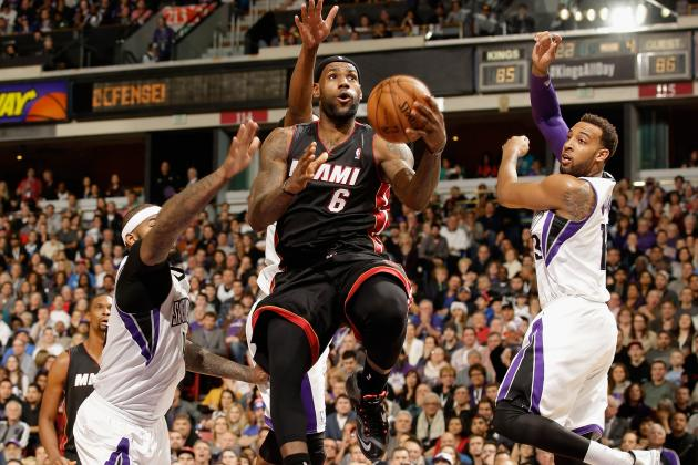 Shorthanded Heat Stumble to 108-103 Overtime Loss in Sacramento