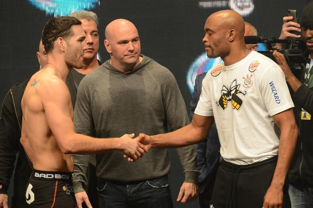 Chris Weidman vs. Anderson Silva 2: Live Blog for the Main Event
