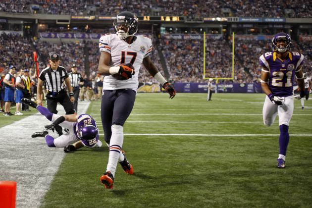 Alshon Jeffery: 5 GIFs Showing Why the Bears WR Should Have Been a Pro Bowler