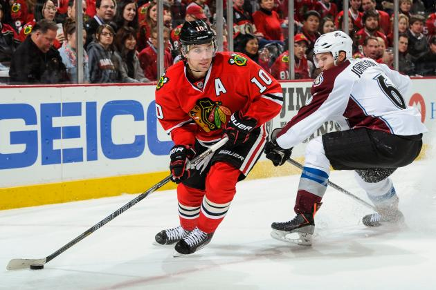 Chicago Blackhawks: Patrick Sharp's Birthday Hat Trick Is Message to Team Canada