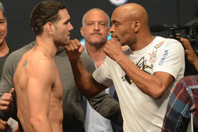 UFC 168: Last-Second Predictions for the Entire Blockbuster PPV Card