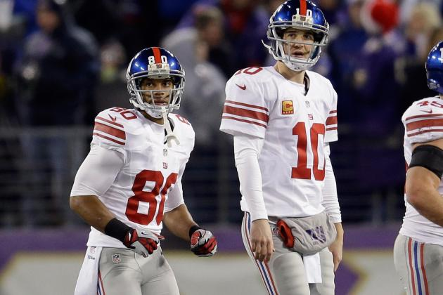 "Victor Cruz: ""Disconnect"" Between WRs and Eli Manning"