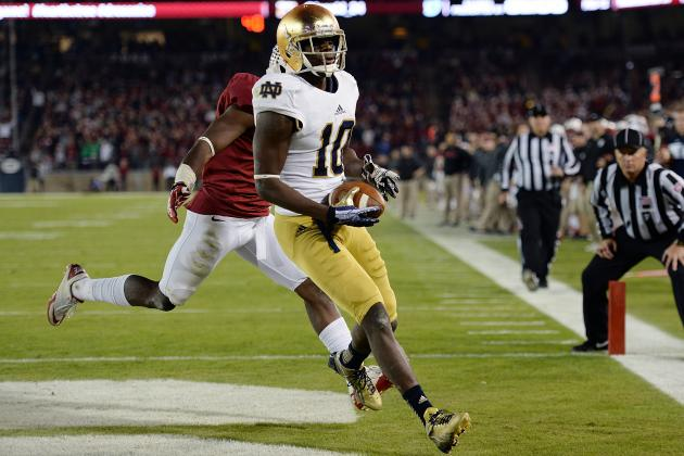 Pinstripe Bowl 2013 Rutgers vs. Notre Dame: Live Game Grades, Analysis for Irish