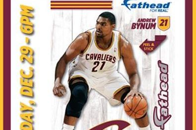 Cavaliers Scheduled to Give Away Andrew Bynum Fatheads Day After Suspension