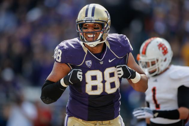 Washington TE Austin Seferian-Jenkins Declares for 2014 NFL Draft