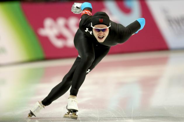 Speedskating US Olympic Trials 2014: Live Results for Men's and Women's 500m