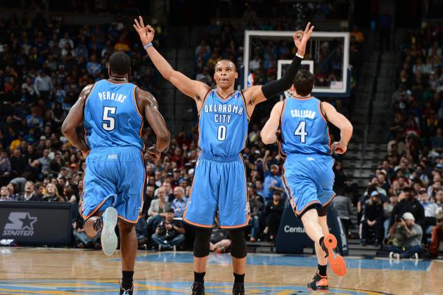 Well-Rounded Oklahoma City Thunder Can Make Do in Russell Westbrook's Absence