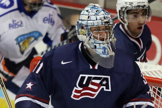 WJC: Gillies Steady in USA's 6-3 Win over Slovaks on Saturday