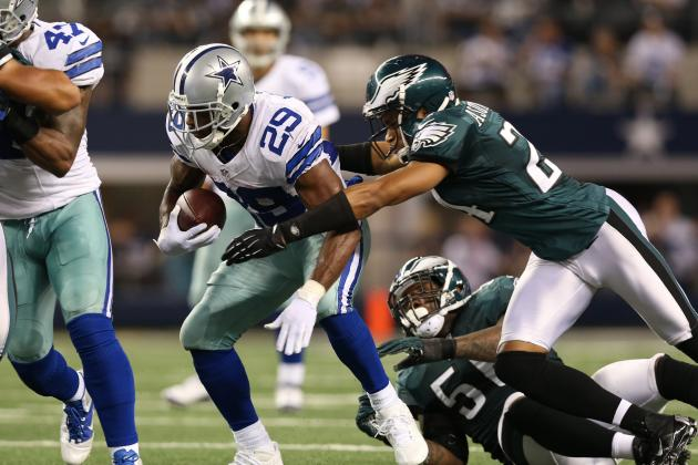 Philadelphia Eagles: Stopping DeMarco Murray Is the Key with Tony Romo Out