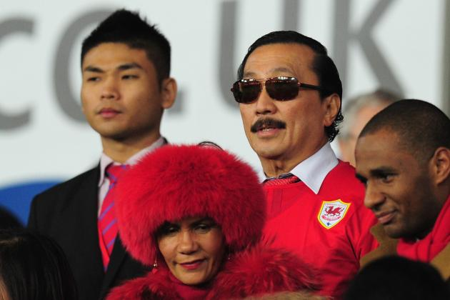 Vincent Tan Boos Own Team After Cardiff Throw Away Win Against Sunderland