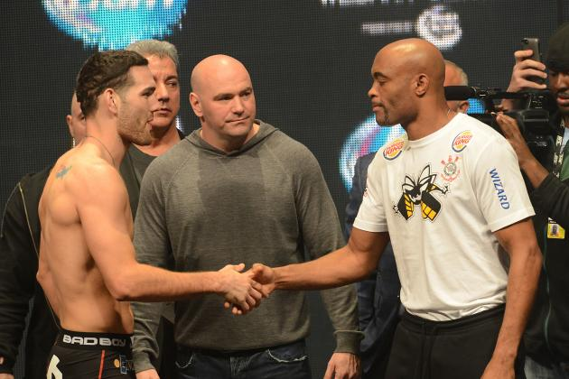 Chris Weidman vs Anderson Silva Rematch: How It Will Differ from the First Fight