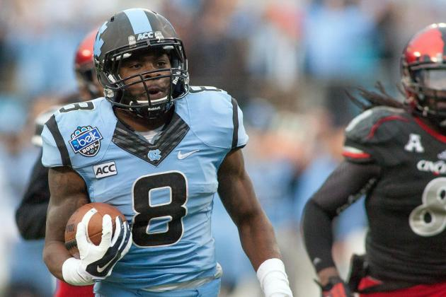 North Carolina Routs Cincinnati in Belk Bowl